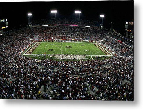 Tiaa Bank Field Metal Print featuring the photograph Acc Football Championship Game by Doug Benc