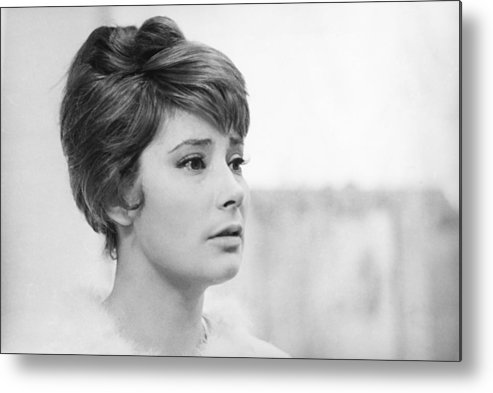 Actress Metal Print featuring the photograph Actress Tatiana Samoylova In 1966 by Keystone-france