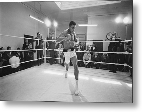 People Metal Print featuring the photograph Ali In Training by R. Mcphedran