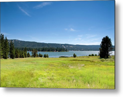 Scenics Metal Print featuring the photograph Alpine Mountian Lake And Meadow by Alynst
