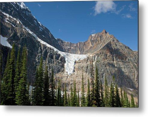 Scenics Metal Print featuring the photograph Angel Glacier by Jim Julien / Design Pics