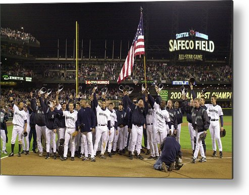 Of Anaheim Metal Print featuring the photograph Angels V Mariners X by Otto Greule Jr