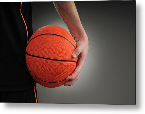 People Metal Print featuring the photograph Basketball Player by Mumininan
