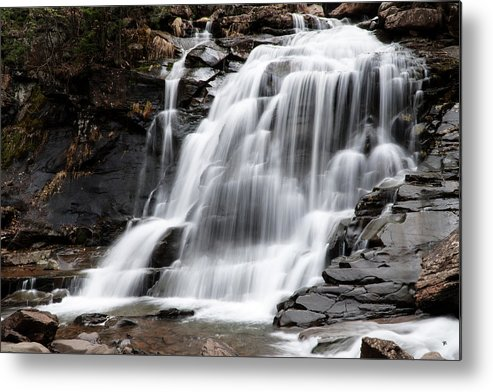 Waterfall Metal Print featuring the photograph Bastion Falls by Tom Romeo