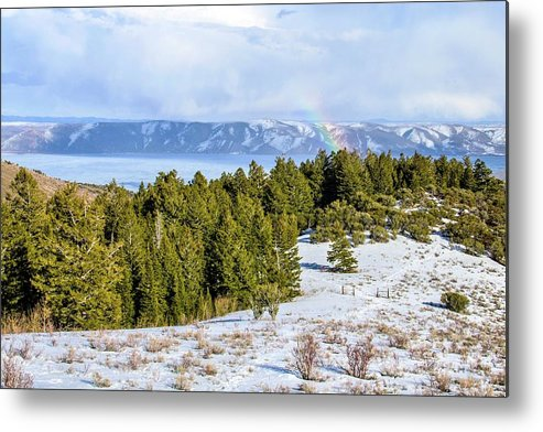 Tranquility Metal Print featuring the photograph Bear Lake Scenic Byway by ©anitaburke