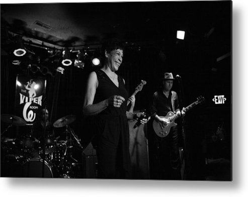 Soul Music Metal Print featuring the photograph Bettye Lavette Performs In Los Angeles by Jim Steinfeldt