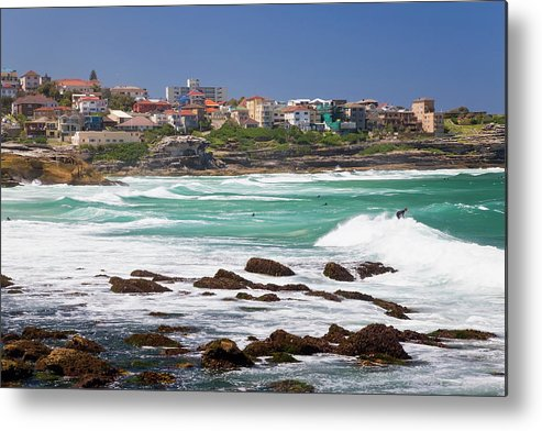 Suburb Metal Print featuring the photograph Bronte, Sydney, Australia by Peter Adams