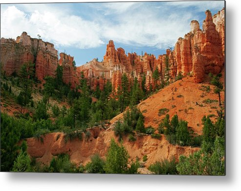 Scenics Metal Print featuring the photograph Bryce Canyon by Wsfurlan