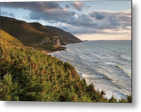 Scenics Metal Print featuring the photograph Cabot Trail Scenic by Shayes17