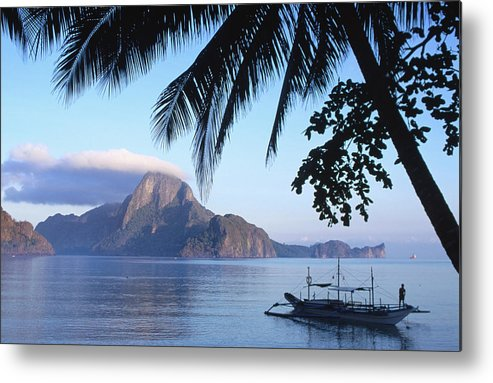 People Metal Print featuring the photograph Cadlao Island From El Nido, Sunrise by Dallas Stribley