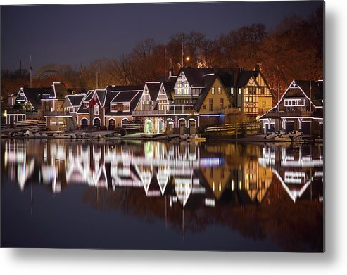 Holiday Metal Print featuring the photograph Christmas Lights by Denistangneyjr
