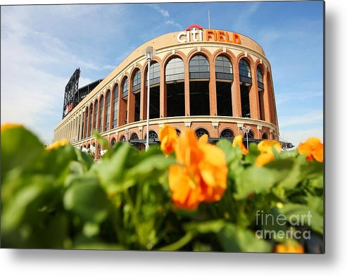 Residential District Metal Print featuring the photograph Citifield Preview by Mike Stobe