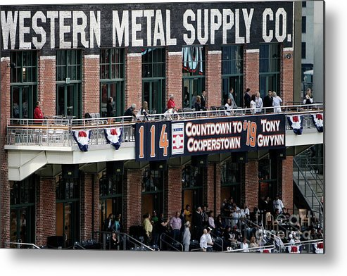 Opening Ceremony Metal Print featuring the photograph Colorado Rockies V San Diego Padres by Donald Miralle