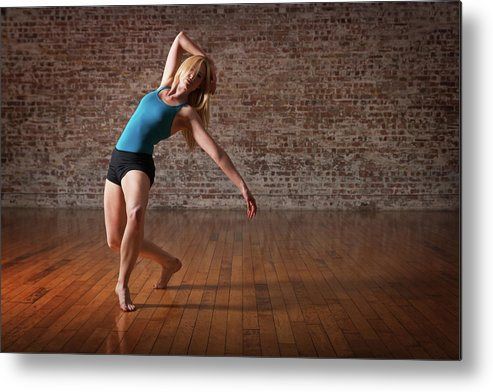 Ballet Dancer Metal Print featuring the photograph Contemporary Ballet Dance Performance by Phil Payne Photography