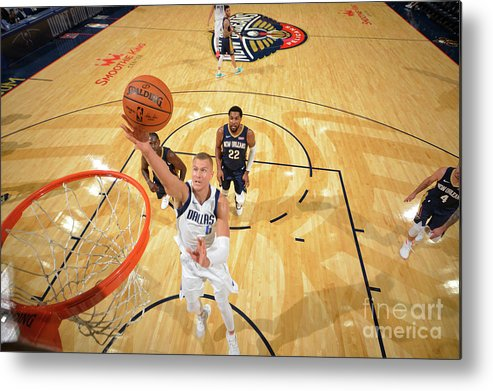Smoothie King Center Metal Print featuring the photograph Dallas Mavericks V New Orleans Pelicans by Jesse D. Garrabrant