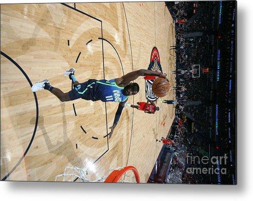 Tim Hardaway Jr. Metal Print featuring the photograph Dallas Mavericks V New Orleans Pelicans by Layne Murdoch Jr.