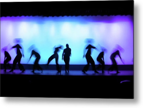 Ballet Dancer Metal Print featuring the photograph Dance Theater by Dansin