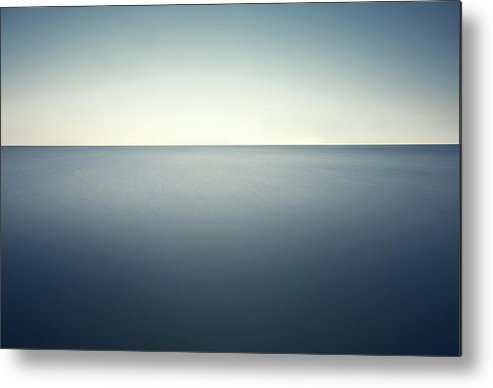 Scenics Metal Print featuring the photograph Deep Blue Sea by Ppampicture