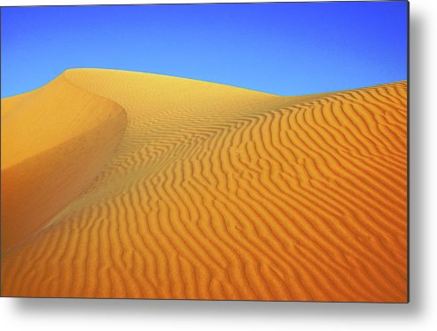 Scenics Metal Print featuring the photograph Diminishing Lines by Asmin Kuntal