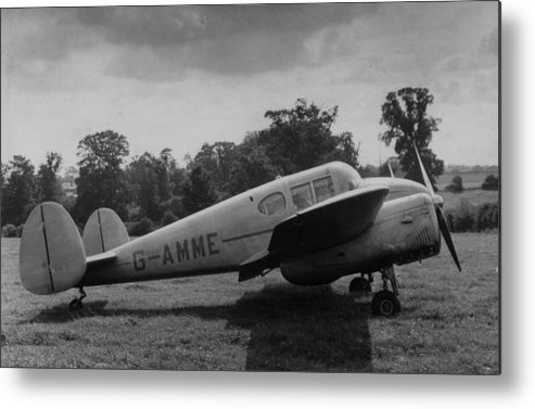 Director Metal Print featuring the photograph Directors Plane by Charles Hewitt