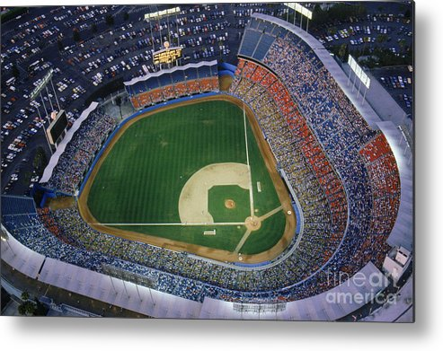 Viewpoint Metal Print featuring the photograph Dodger Stadium by Getty Images