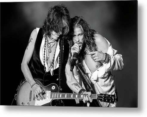 People Metal Print featuring the photograph Download Festival 2014 - Day 3 by Neil Lupin