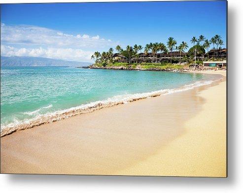 Lahaina Metal Print featuring the photograph Dream Beach Napili Bay Maui Hawaii by Mlenny