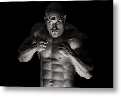 Toughness Metal Print featuring the photograph Extreme Guy by Vuk8691