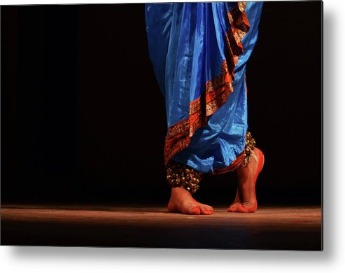 Expertise Metal Print featuring the photograph Feet - The Soul Of Dance by Avishek Saha