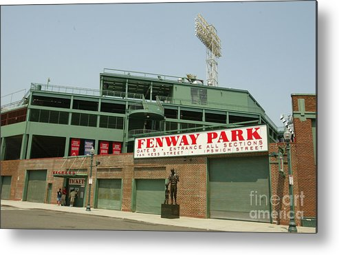 American League Baseball Metal Print featuring the photograph Fenway Park by Getty Images