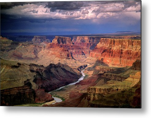 Scenics Metal Print featuring the photograph Grand Canyon, Arizon, Usa by Michael Busselle