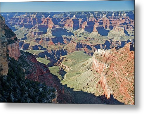 Scenics Metal Print featuring the photograph Grand Canyon Beauty by Mitch Diamond