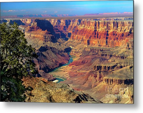 Grand Canyon Metal Print featuring the photograph Grand Canyon Sunset by Robert Bales