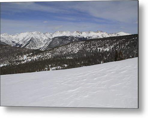 Scenics Metal Print featuring the photograph Holy Cross Wilderness Area In Winter by John Kieffer