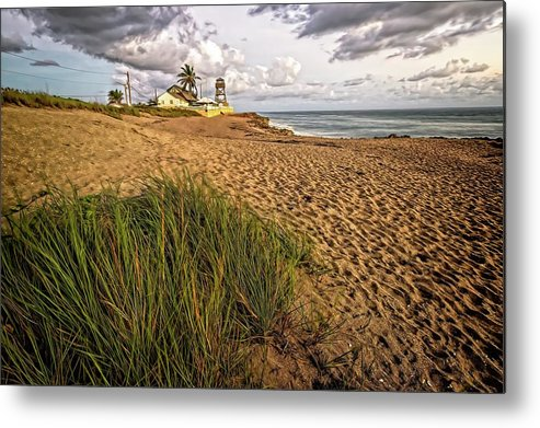 Beach Metal Print featuring the photograph House of Refuge Beach 10 by Steve DaPonte