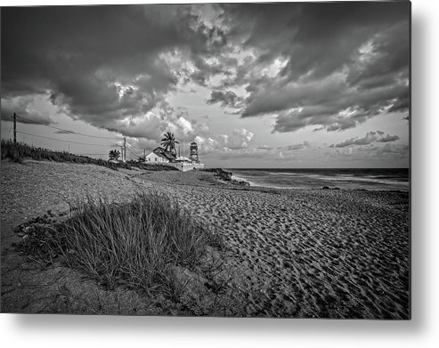 Beach Metal Print featuring the photograph House of Refuge Beach 8 by Steve DaPonte