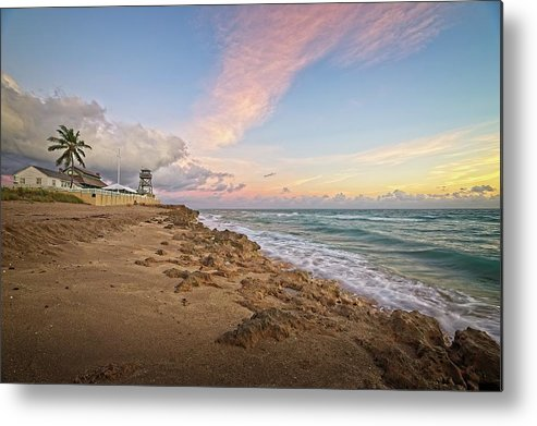 Stuart Metal Print featuring the photograph House of Refuge Beach 9 by Steve DaPonte