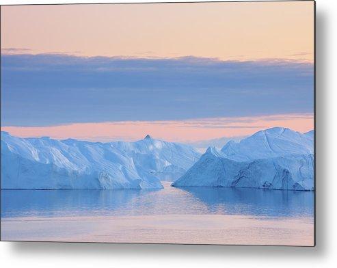 Iceberg Metal Print featuring the photograph Iceberg by Raimund Linke