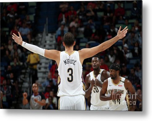 Smoothie King Center Metal Print featuring the photograph La Clippers V New Orleans Pelicans by Layne Murdoch Jr.