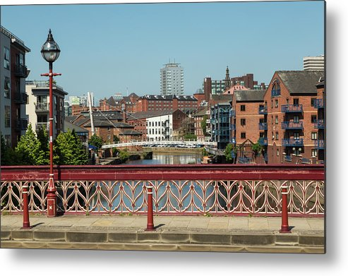 English Culture Metal Print featuring the photograph Leeds Waterfront Developments by P A Thompson