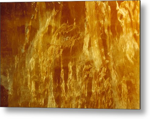 Mineral Metal Print featuring the photograph Marble by David Wasserman