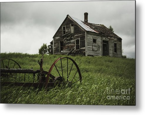 Empty Metal Print featuring the photograph Memories Lost by Shaunl