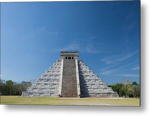 Latin America Metal Print featuring the photograph Mexico, Yucatan Peninsula, Yucatan by Adam Crowley