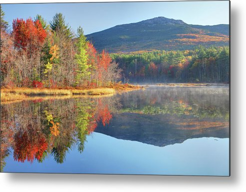 Scenics Metal Print featuring the photograph Mount Monadnock In Autumn by Denistangneyjr