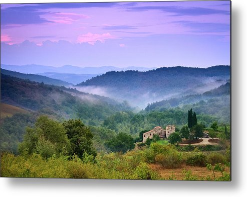 Scenics Metal Print featuring the photograph Mountains by Christian Wilt