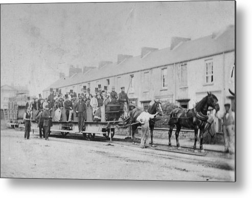 Horse Metal Print featuring the photograph Mumbles Train by Hulton Archive