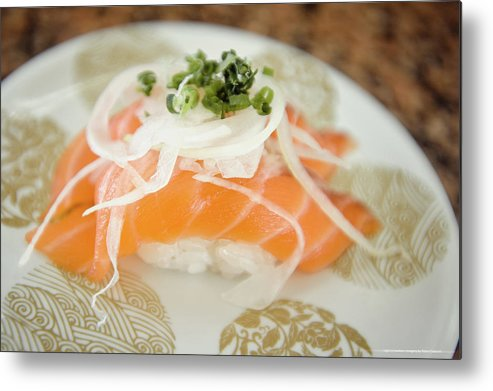 Japanese Food Metal Print featuring the photograph Nigiri by Lightnmotion