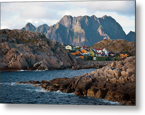 Tranquility Metal Print featuring the photograph Norway by Brigitte Hermans