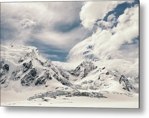 Tranquility Metal Print featuring the photograph Nz Landscapes by Devon Strong