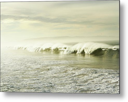 Pismo Beach Metal Print featuring the photograph Ocean At Sunrise by Kevinruss